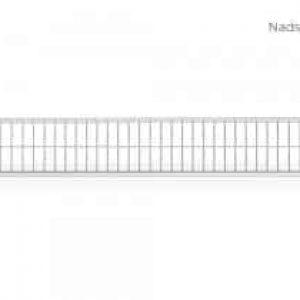 NADSTAWKA NA PRZĘSŁO 68×344 CM