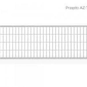 PRZĘSŁO AZ-7 NISKIE 120 X 345,6 CM